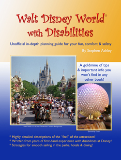 Walt Disney World With Disabilities Guidebook cover