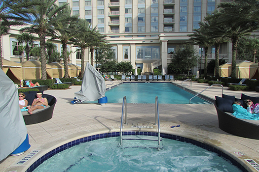 Waldorf Astoria Orlando Disney pool